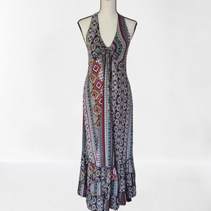 Boohoo Patterned Maxi Dress Pre-owned